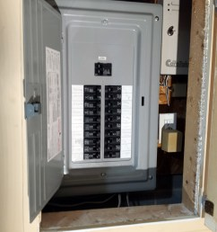 100 amp fuse box replacement in coon rapids [ 3096 x 4128 Pixel ]