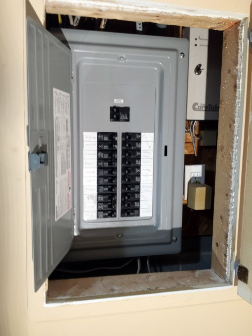 small resolution of 100 amp fuse box replacement in coon rapids