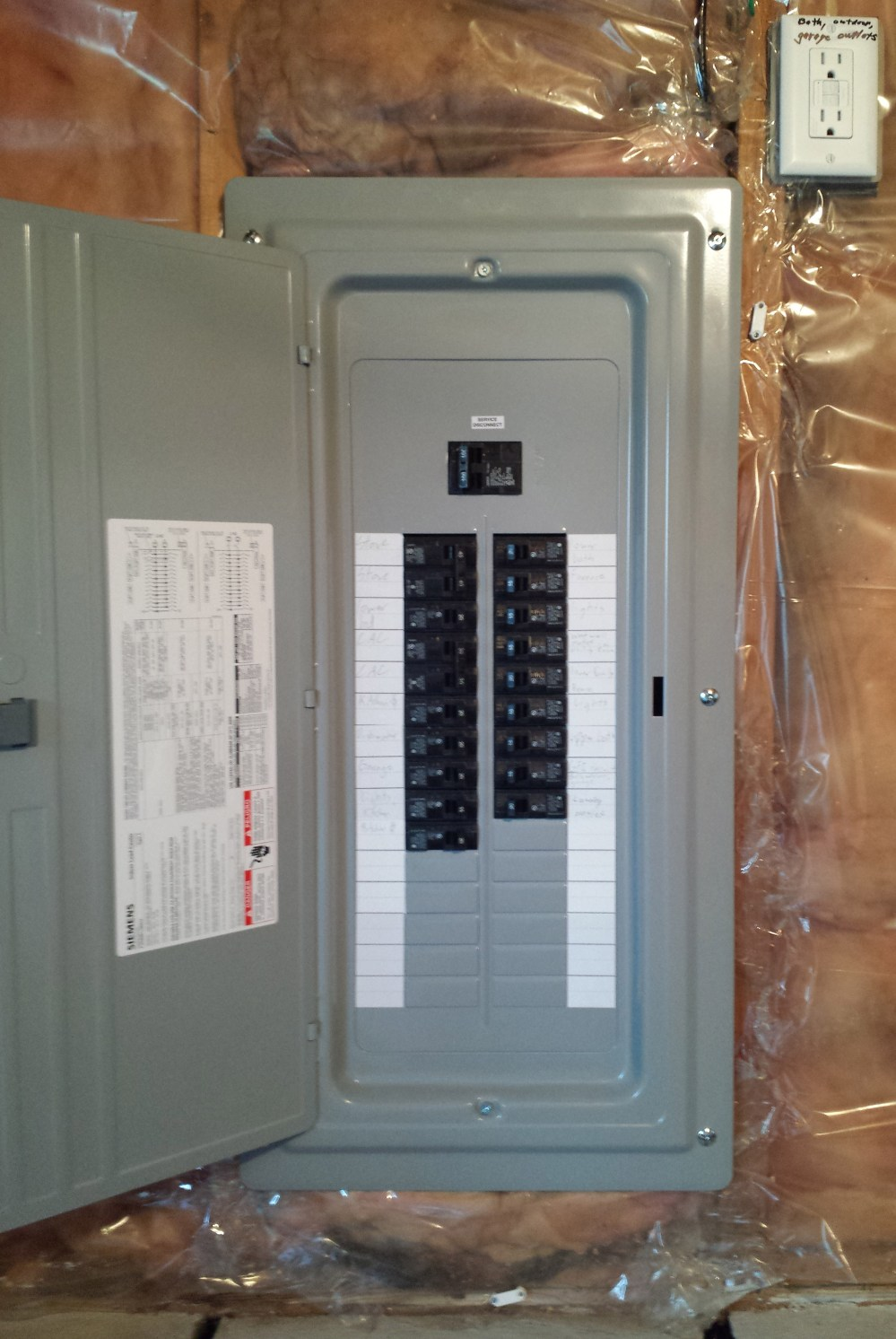 medium resolution of 100 amp panel replacing an fpe in blaine