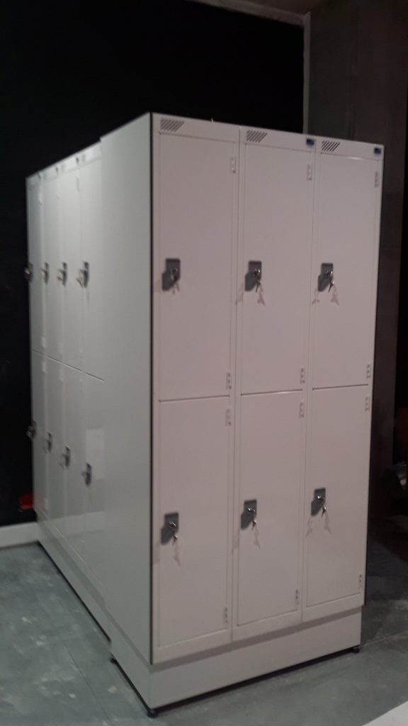 Heated lockers