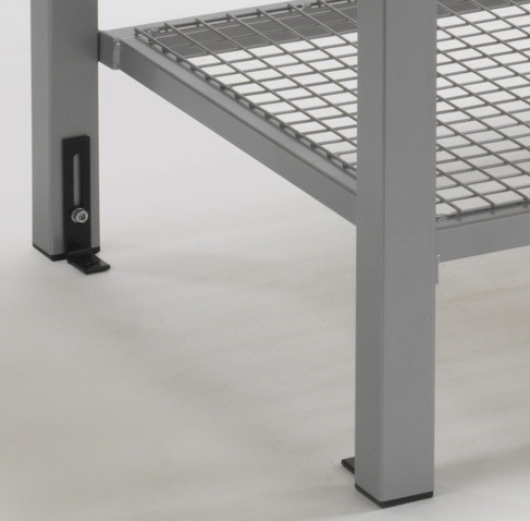 Shoe tra for bench seating