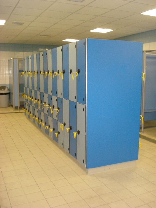 Swimming Pool Leisure Lockers