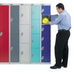 Budget wet area lockers