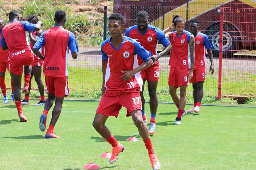 Gold Cup 2019, J-6 les Grenadiers à pied d'œuvre au Costa Rica .