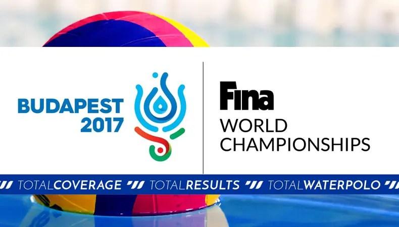 Fina World Championship Waterpolo Budapest 2017