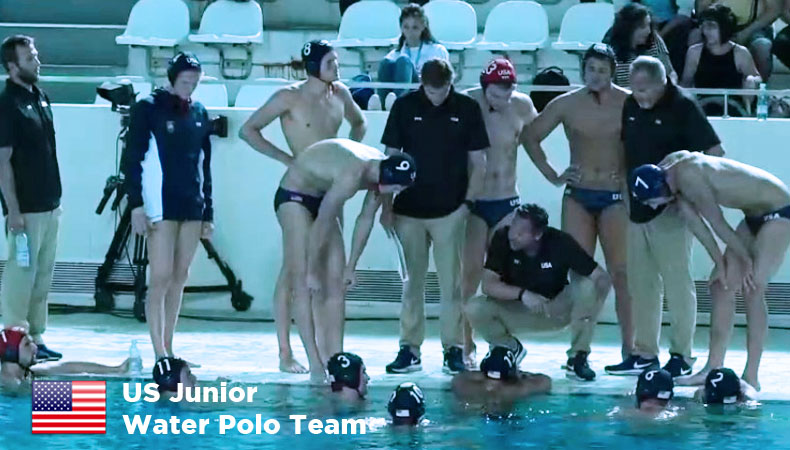US Junior Water Polo Team Belgrade 2017