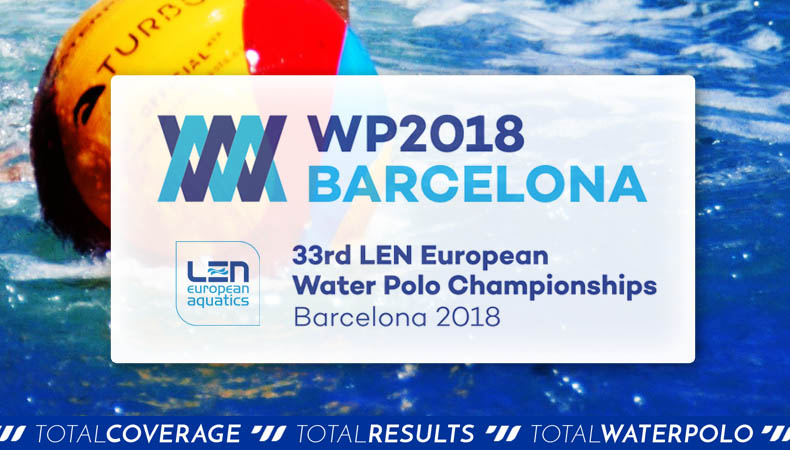 European Water Polo Championships 2018 Barcelona Qualifications