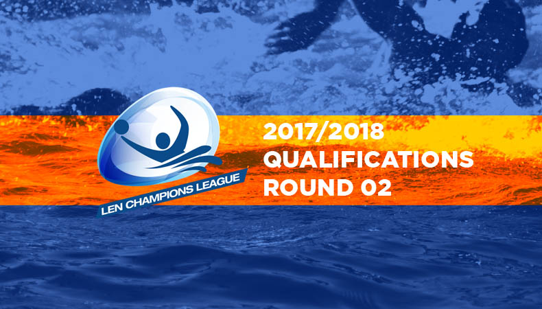 LEN Champions League 2017 2018 qualifications round 02