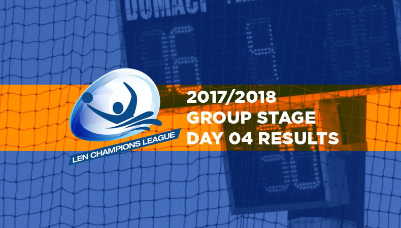 LEN-champions-league-2017-2018-Group Stage Day 04 Results