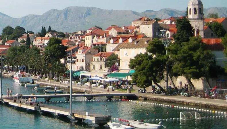 Pool in Cavtat
