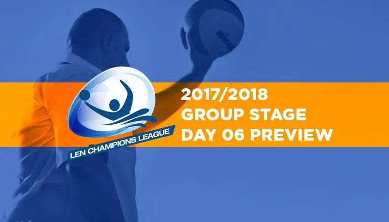 LEN-champions-league-2017-2018-Day06-Preview