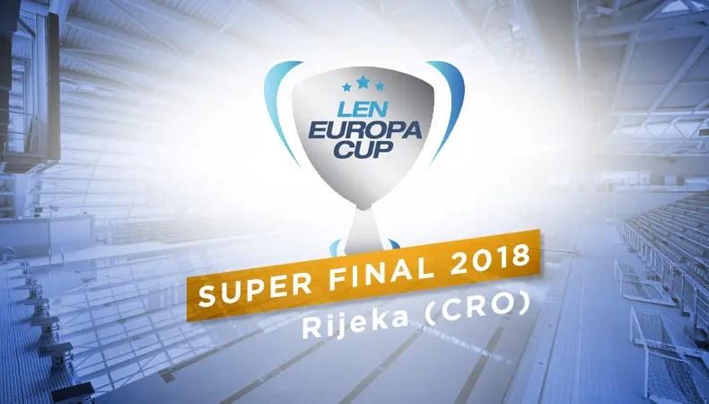 LEN EUROPA CUP SUPER FINAL 2018 - Rijeka