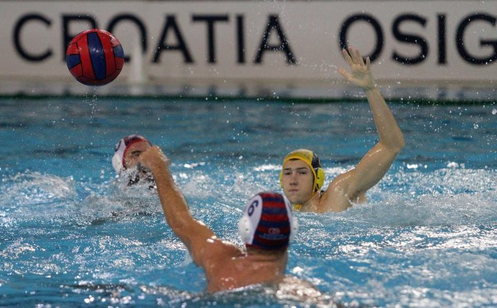 Croatian Water Polo — Jug Opened the Match with 7:0