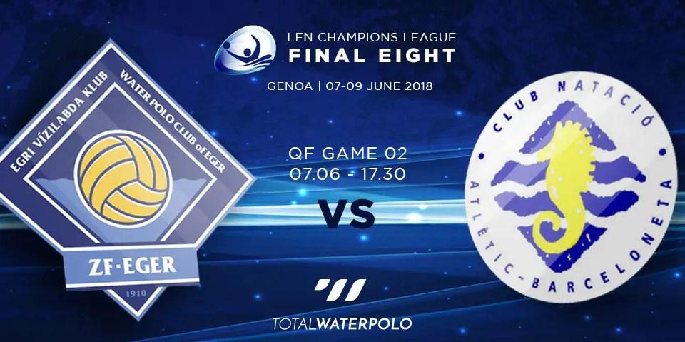 LEN Champions League 2018 Final Eight Genoa Quarterfinals 02