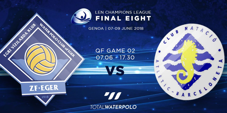 LEN Champions League 2018 Final Eight Genoa Quarterfinals 02