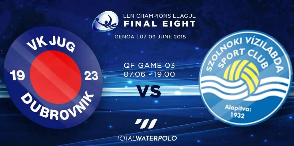 LEN Champions League 2018 Final Eight Genoa Quarterfinals 03