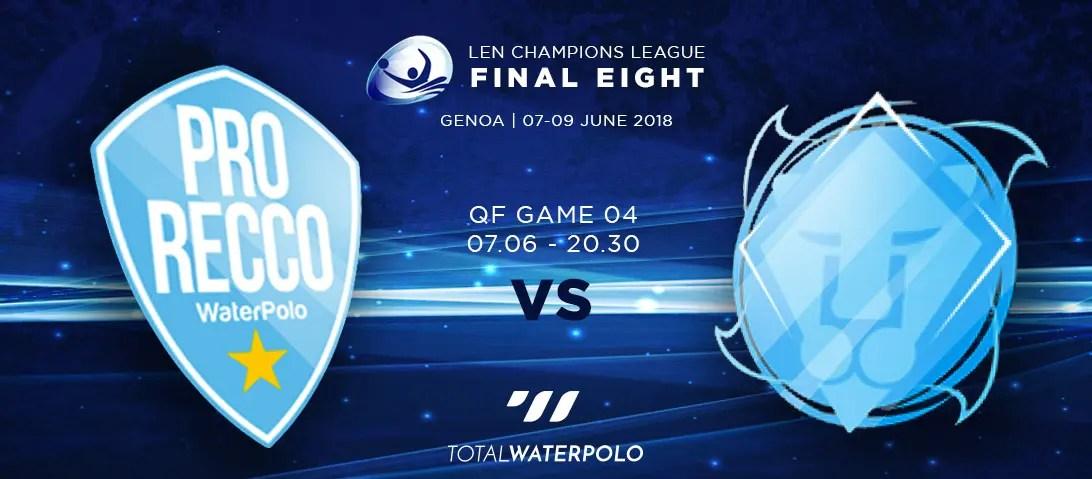 LEN Champions League 2018 Final Eight Genoa Quarterfinals 04