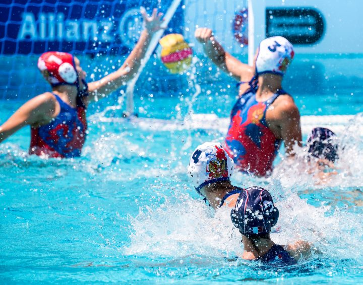 [BARCELONA WP 2018] Semi Finals, Women: The Netherlands and Greece Fight for Gold
