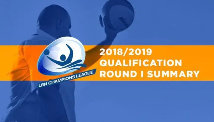 Champions League, Qualification, Round I – Summary