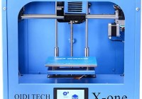 Qidi Technology X-one 3D Printer Review