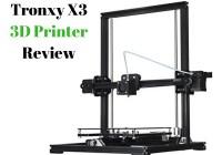 Tronxy X3 3D Printer Review