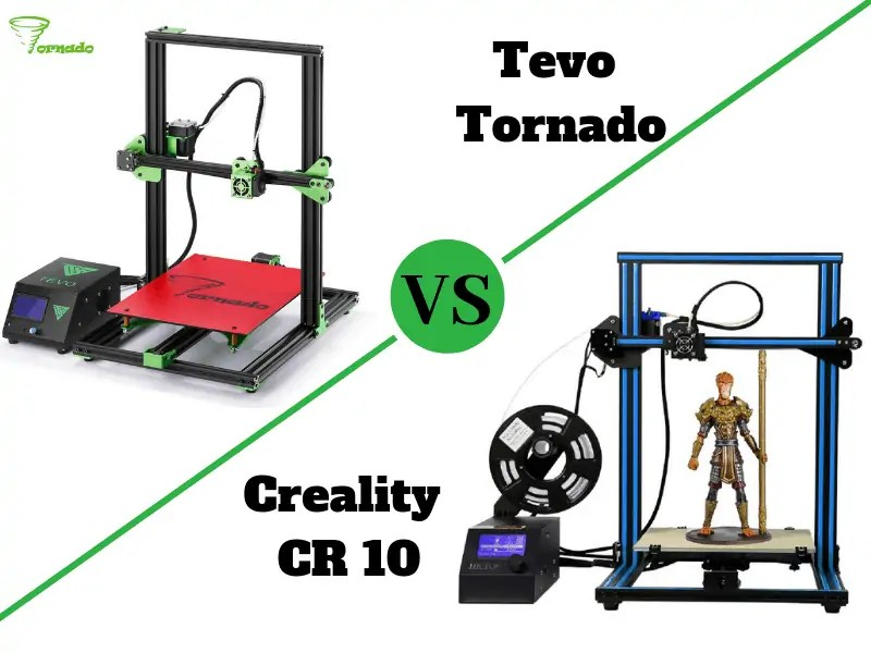 Tevo Tornado vs Creality CR 10: Which is the Best Choice? - Total 3D