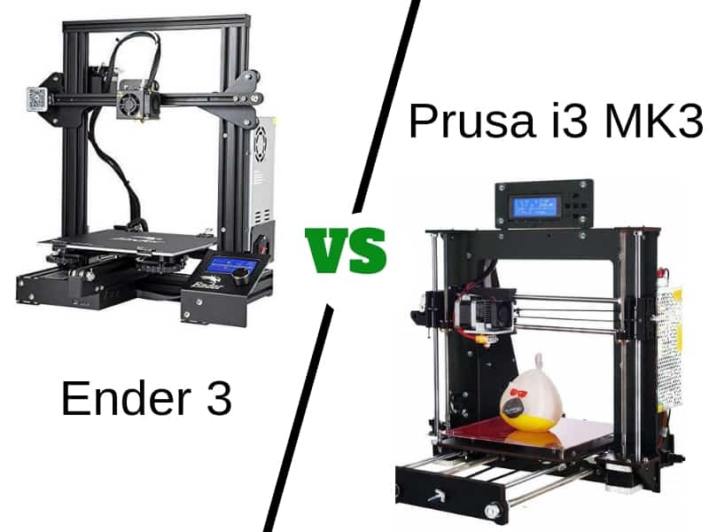 Ender 3 vs Prusa i3 MK3 [2019] - Which is the Best 3D