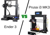 Ender 3 vs Prusa i3 MK3