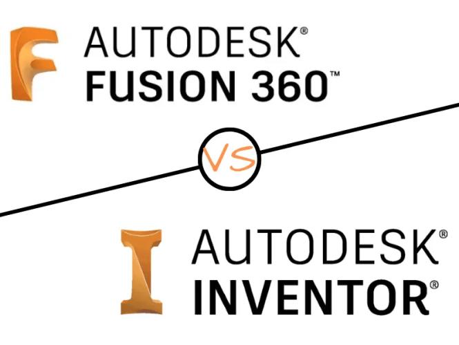 Fusion 360 vs Inventor Autodesk