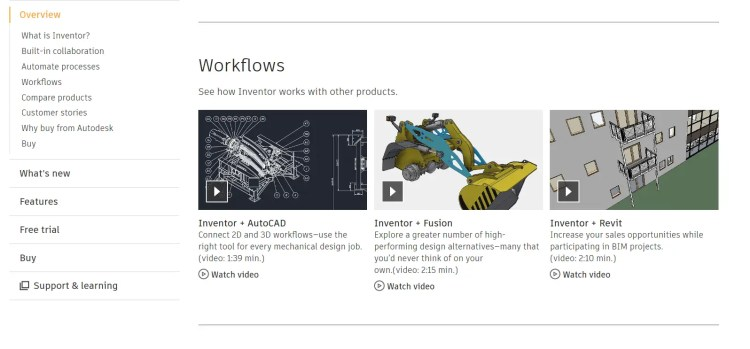 Autodesk Features