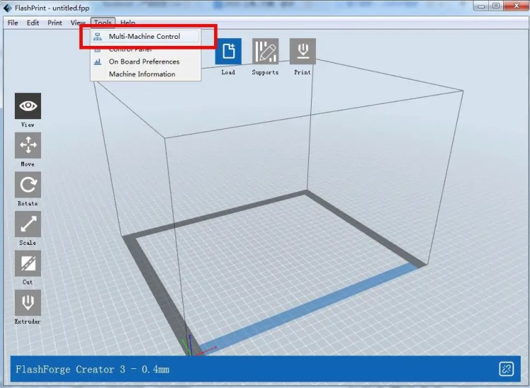 flashprint flashforge software