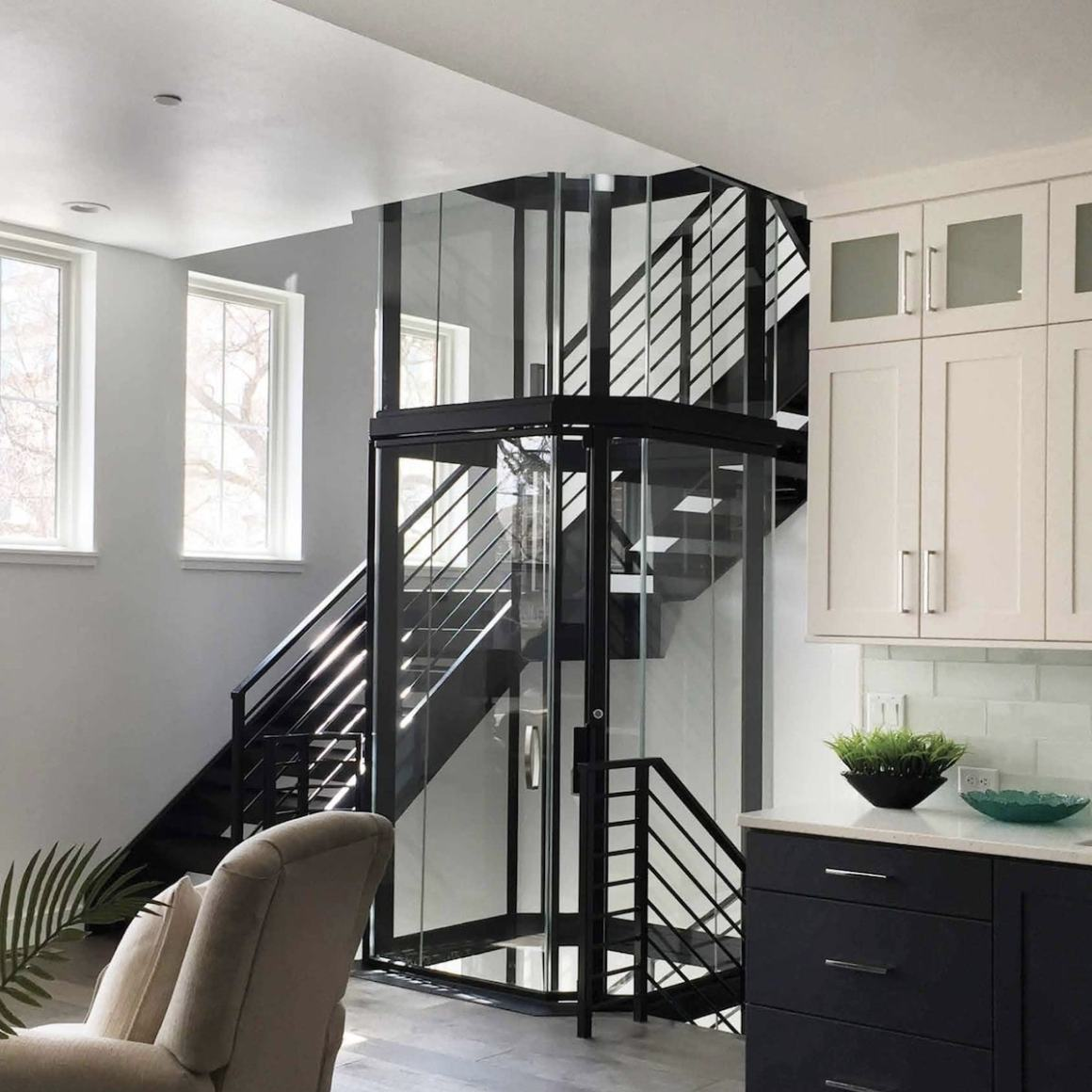 Vuelift home elevator by Avaria