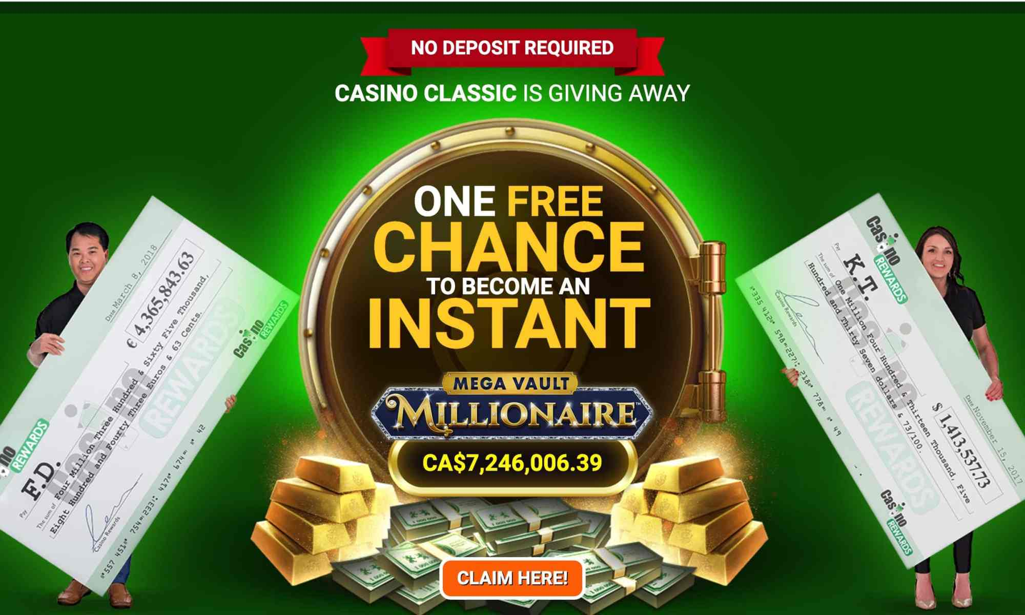 Casino Classic - $500 Match Prize Plus Loyalty Points