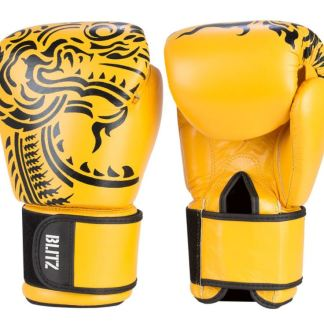 Muay Thai Leather Boxing Gloves