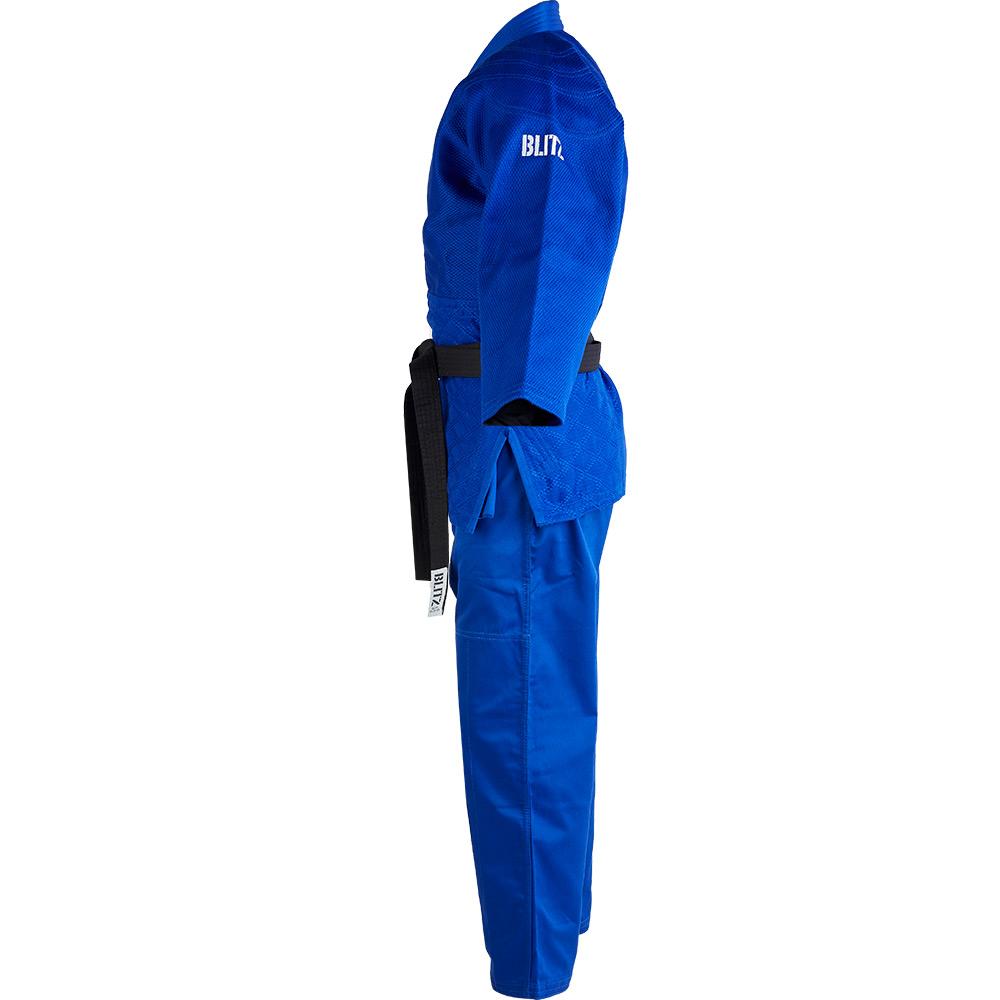 Polycotton Master Heavyweight Judo Suit - Blue - 750gsm
