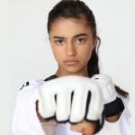 Rayna Vallandingham Taekwondo Champion