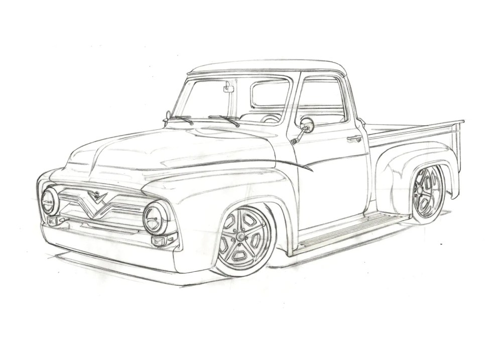 medium resolution of revised f100 sketch 1