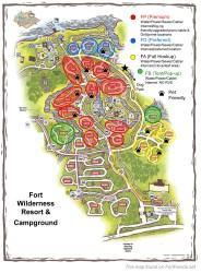 map wilderness fort disney site campground loop ft classification resort walt camping loops pet fortfiends resorts fiends plan information tent