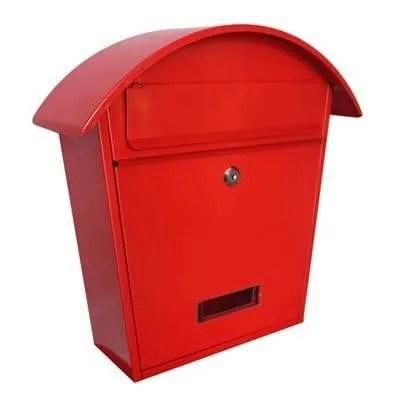 Gardag-Arcade-Mail-Box-Red