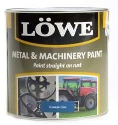 Lowe-Metal-Machinery-Paint-Gentian-Blue-RAL-5010