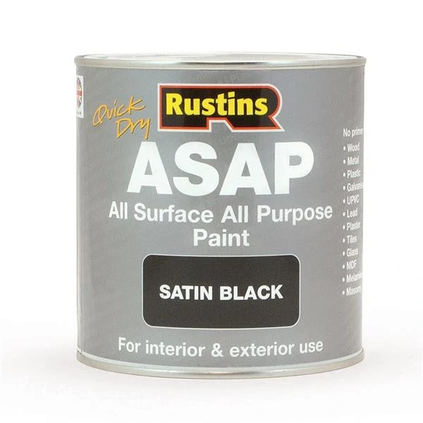Rustins-Quick-Dry-All-Surface-All-Purpose-Paint-ASAP-Satin-Black-500ml