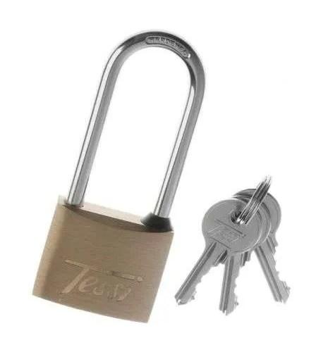 Tessi-Long-Shackle-Padlock-Brass-40mm