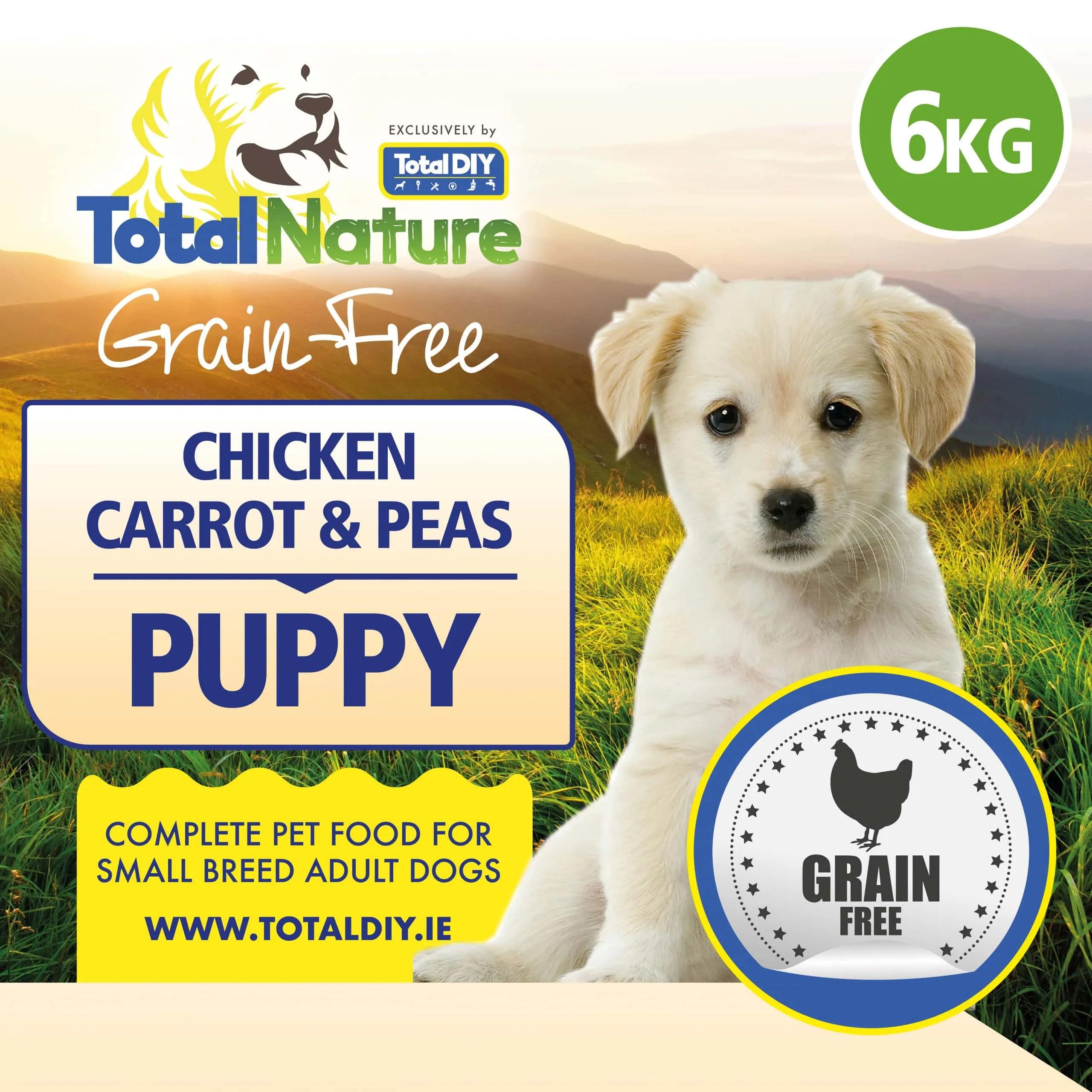 Total-Nature-Grainfree-Puppy-Chicken-Carrot-Peas-6kg
