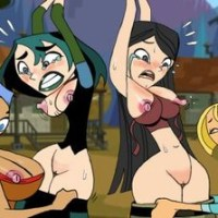 beautiuful girls of total drama island naked!