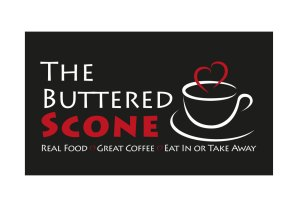 The Buttered Scone logo design