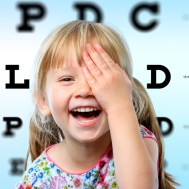 A children's eye exam important in protecting a children's vision