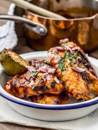 chipotle maple lime chicken wings