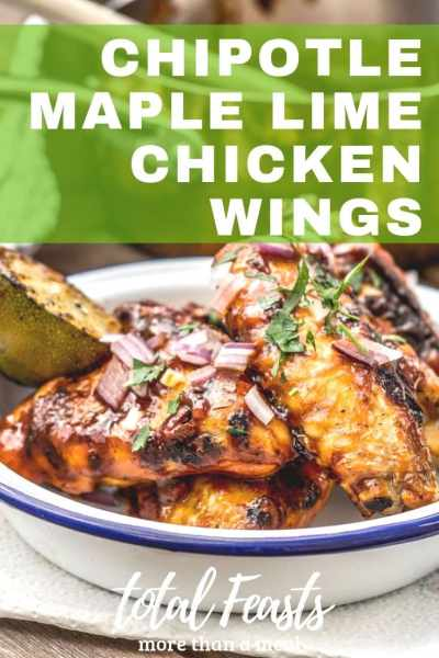 Maple Chipotle Lime Wings