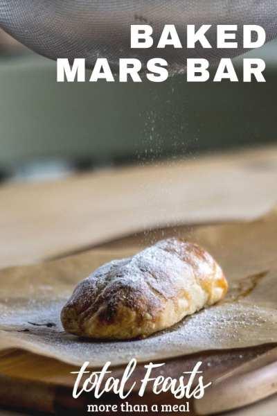 Baked Mars Bar