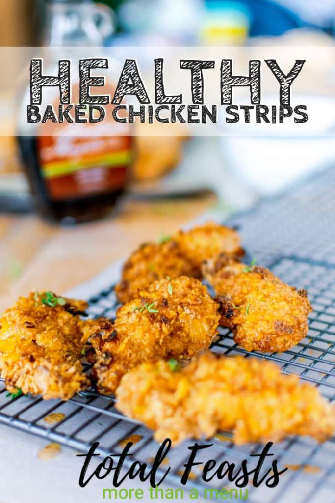 Healthy Baked Chicken Strips